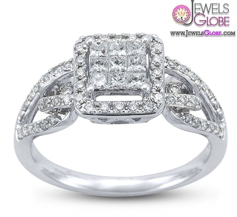 Antique-Style-Art-Deco-Wedding-Ring 18 Best Antique Wedding Rings Designs for Women
