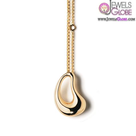 Aqua-Yellow-Gold-Women-Pendant The 29 Most Popular Gold Pendant Designs For Women