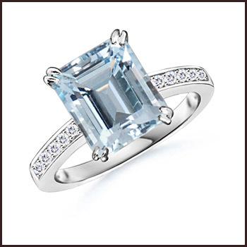 Aquamarine-Cocktail-Ring-jewelry Top Ranked Aquamarine Cocktail Rings