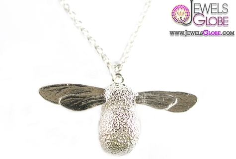 Baby-Bee-Necklace 33 Amazing Designs Of Baby Necklaces