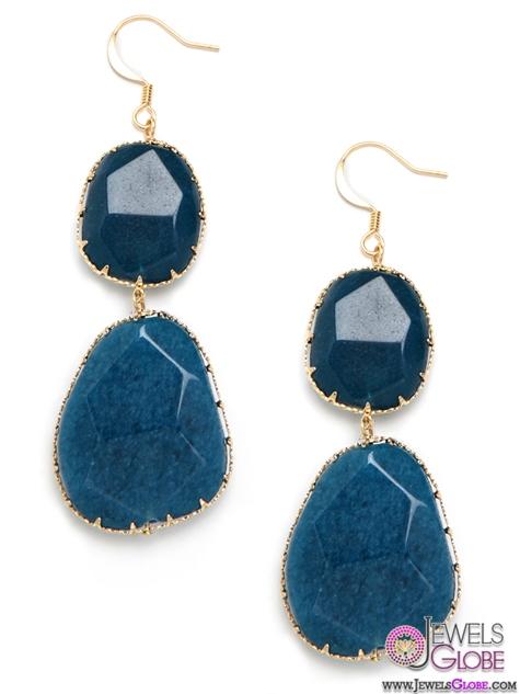 BaubleBar-Blue-Drop-Earrings The 43 Hottest Gemstone Drop And Stud Earrings Designs for Women