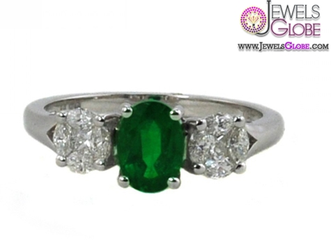 Ben-Garelick-Emerald-and-Diamond-Three-Stone-Engagement-Ring The Most Stylish Gemstone Engagement Rings