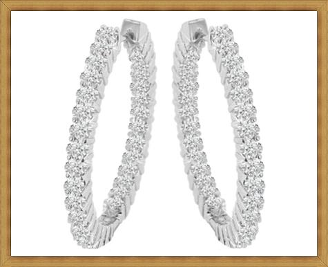 Big-Round-Earrings Best Ways to Choose Most Stylish Earrings
