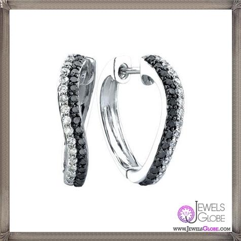 Black-And-White-Diamond-Hoop-Earrings These Are The BEST 32 Diamond Hoop Earrings You'll See (Plus Shopping Tips)