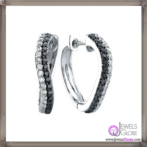 Black-And-White-Diamond-Hoop-Earrings These Are The BEST 32 Diamond Hoop Earrings You'll See (Plus Shopping Tips)