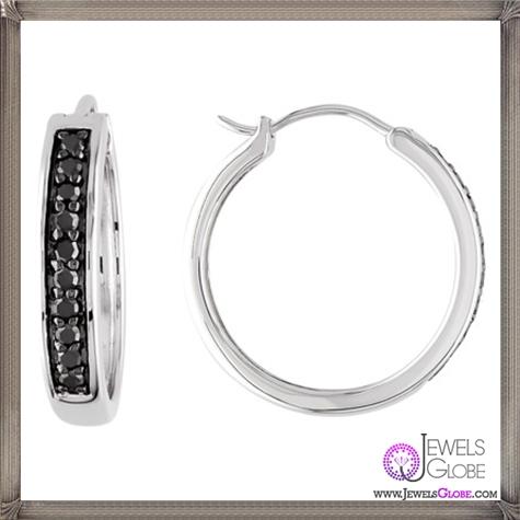 Black-Diamond-Hoop-Earrings These Are The BEST 32 Diamond Hoop Earrings You'll See (Plus Shopping Tips)