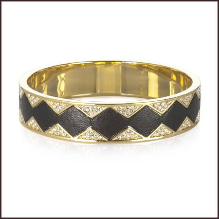 Black-Sunburst-Pave-Bangle Best 7 Bangles Collection That Amaze Each Woman