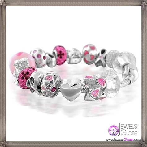 Bling-Jewelry-Breast-Cancer-Awareness-Pandora-Compatible-Charm-Bracelet-925-Silver Pandora Jewelry and Its Top Stores