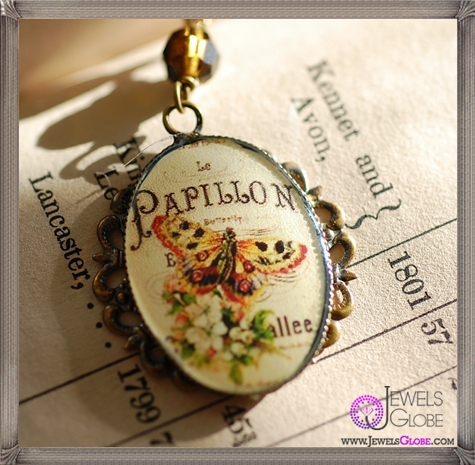 Butterfly-Papillon-French-Cameo-Necklace The 13 Most Stylish Cheap Cameo Necklaces