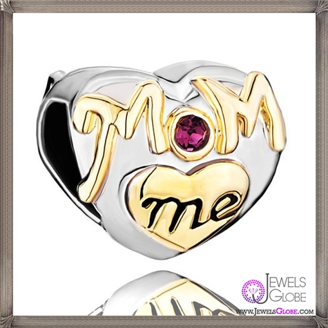 Christmas-Gifts-Pugster-Purple-Amethyst-Swarovski-Crystal-Golden-Love-Mom-Heart-Beads-Fits-Pandora-Charm-Bracelet-Gifts-For-Mother Pandora Jewelry and Its Top Stores
