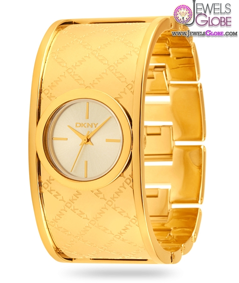 DKNY-Ladies-Gold-Plated-Watch The Best DKNY Watches For Women