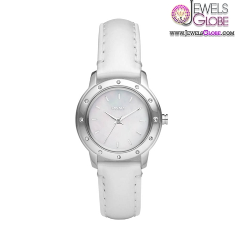 DKNY-Ladies-White-Leather-Watch The Best DKNY Watches For Women