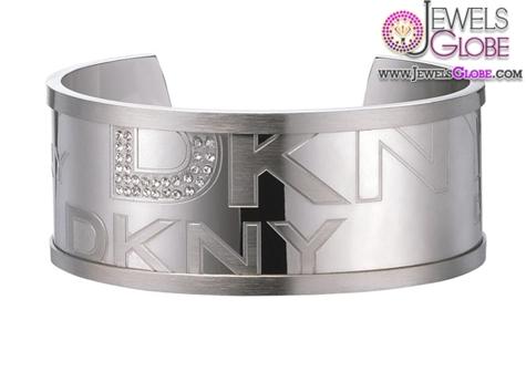 DKNY-Silver-Cuff-Bangle 35 Hot Cuff Bracelets For Women