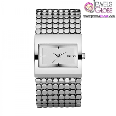 DKNY-Womens-Diamante-Round-Dial-Bracelet-Watch The Best DKNY Watches For Women