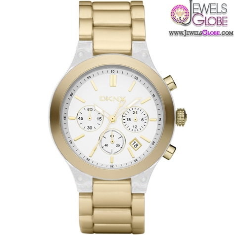 DKNY-Womens-Gold-Street-Smart-Aluminium-Watch The Best DKNY Watches For Women