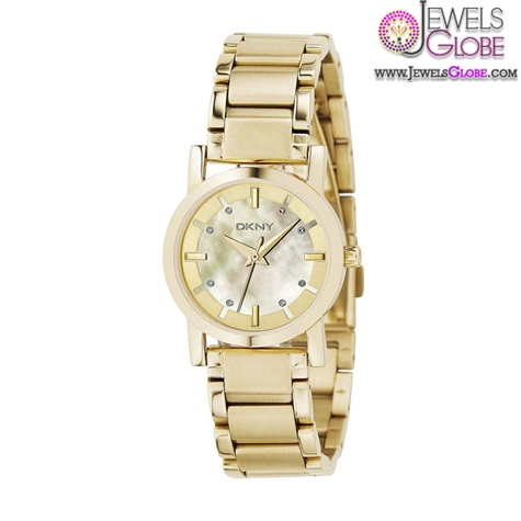 DKNY-Womens-Goldtone-Stainless-Steel-Watch The Best DKNY Watches For Women