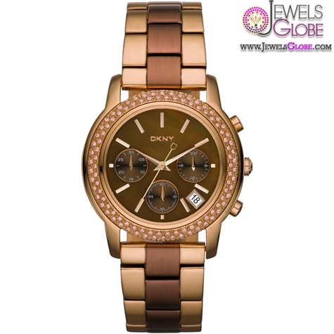 DKNY-Womens-Two-Tone-Street-Smart-Watch The Best DKNY Watches For Women