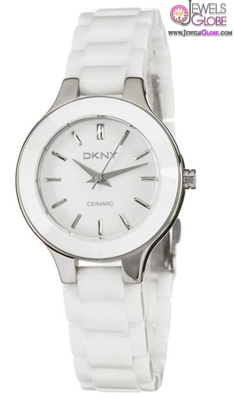 DKNY-Womens-White-Ceramic-Mother-of-Pearl-Dial-Watch The Best DKNY Watches For Women