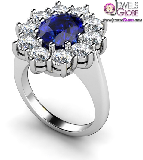 Dark-Blue-Sapphire-Engagement-Rings Top 21 Blue Sapphire Engagement Rings Designs