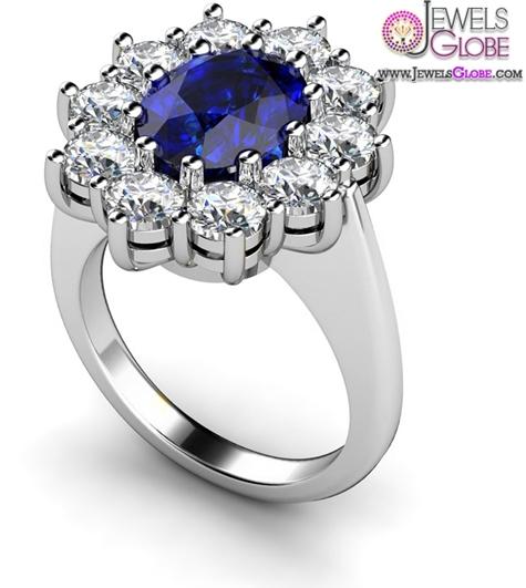 Dark-Blue-Sapphire-Engagement-Rings Top 21 Blue Sapphire Engagement Rings Designs