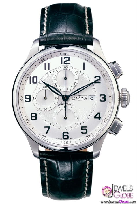Davosa-Pares-Classic-Automatic-Chronograph-Popular-Mens-Watch 27 Most Popular Mens Watches Brands and Designs
