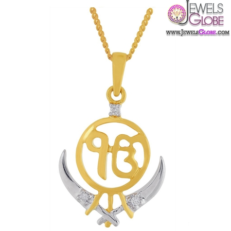Ddamas-Saumya-Collection-18-K-Gold-Pendant The 29 Most Popular Gold Pendant Designs For Women
