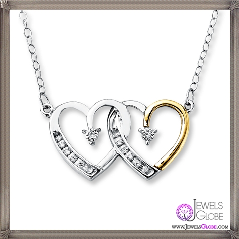 Diamond-Heart-Necklace-Sterling-Silver The 28 Best Diamond Heart Necklaces & Pendants For Women and Buying TIPS