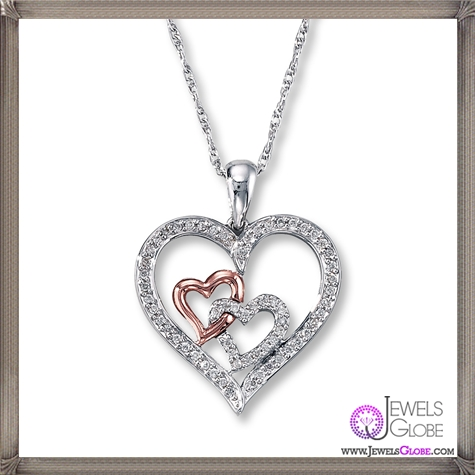Diamond-Heart-Necklace-tw-Sterling-Silver The 28 Best Diamond Heart Necklaces & Pendants For Women and Buying TIPS