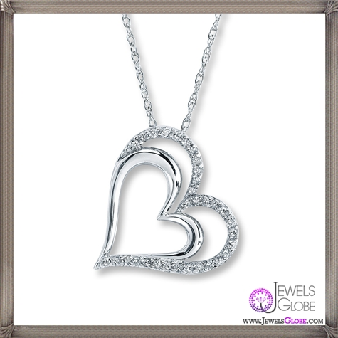 Diamond-Heart-Necklaces The 28 Best Diamond Heart Necklaces & Pendants For Women and Buying TIPS