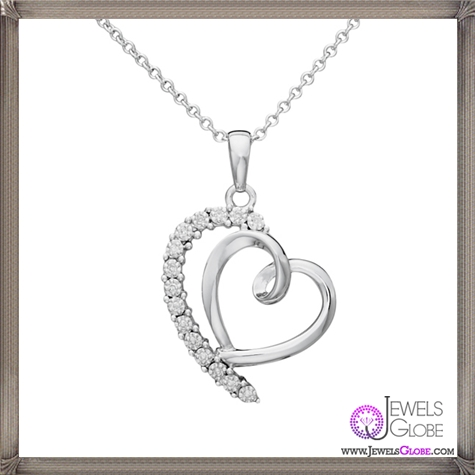Diamond-Heart-Pendant The 28 Best Diamond Heart Necklaces & Pendants For Women and Buying TIPS