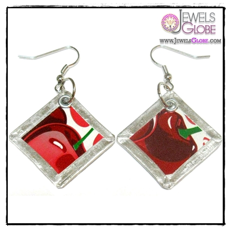 Dr.-Pepper-Square-Earrings-Jewlery Art of Wearing Jewelry for Young Girls
