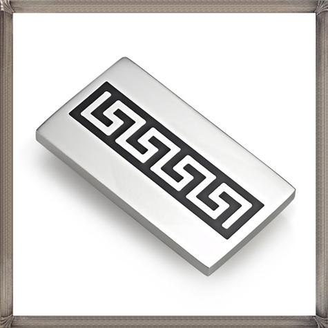 Elegant-Greek-Mens-Money-Clip-Silver The 15 Most Popular Sterling Silver Money Clips