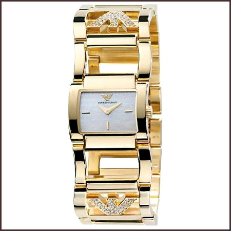Emporio-Armani-Ladies-Watch Best 7 Armani Ladies Watches Designs