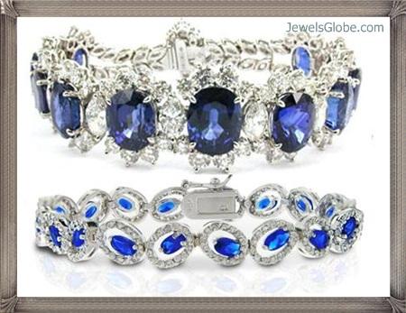 Fancy-Blue-Diamond-Bracelets-Designs Fancy Blue Diamond Bracelets (Hot Designs)