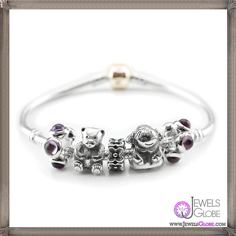 Fancy-Pandora-A-Me-To-You-Bear-Bracelet Pandora Jewelry and Its Top Stores