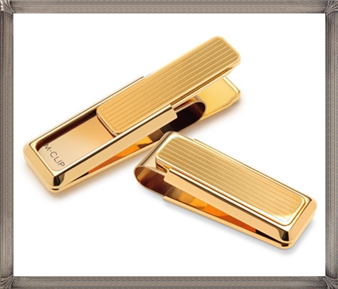 Flat-Gold-Money-Clip The 25 Most Popular Gold Money Clip Designs