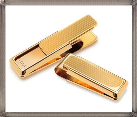 Flat-Gold-Money-Clip The 25 Most Popular Gold Money Clip Designs