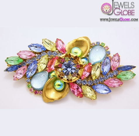Fruit-Salad-Rhinestone-Brooch The 11 Best Designs of Rhinestone Brooches for Women