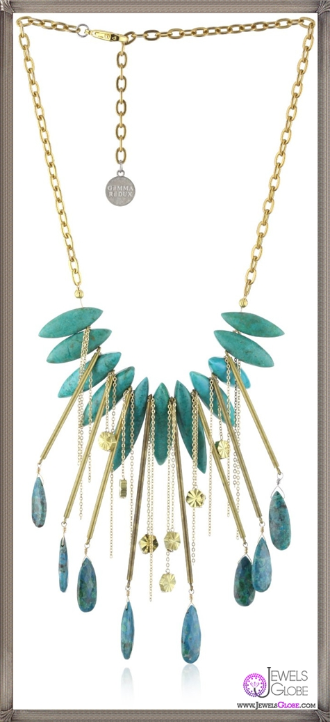 Gemma-Redux-Crysocolla-and-Turquoise-Hespera-Necklace Important Gemma Redux Jewelry Pieces to Look For