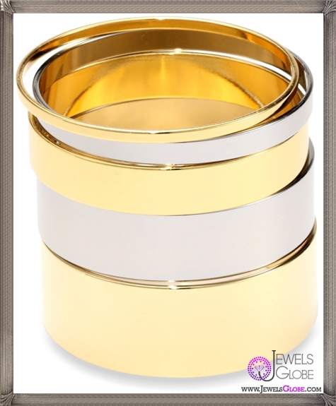 Gemma-Redux-Gold-and-Steel-Adelasia-Bangle-Bracelet Important Gemma Redux Jewelry Pieces to Look For