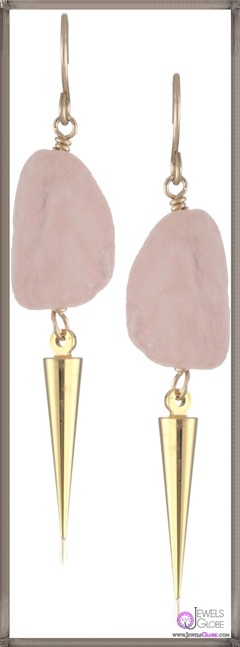 Gemma-Redux-Rose-Quartz-Dafne-Earrings Important Gemma Redux Jewelry Pieces to Look For