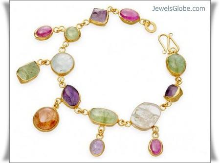 Gemstone-Gold-Bracelet-By-Astley-Clarke 18 Best Gold Gemstone Bracelets Designs