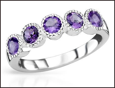 Genuine-Amethysts-Made-in-925-Sterling-silver-ring-for-women Hottest Sterling Silver Rings For Women