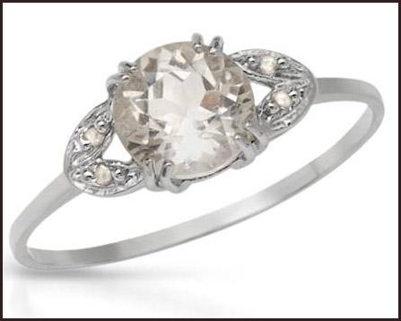 Genuine-Diamonds-and-Topaz-925-Sterling-silver-women-rings Hottest Sterling Silver Rings For Women