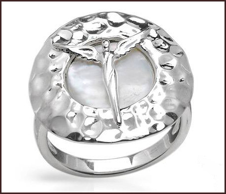 Genuine-Mother-of-pearl-925-Sterling-silver-women-ring Hottest Sterling Silver Rings For Women