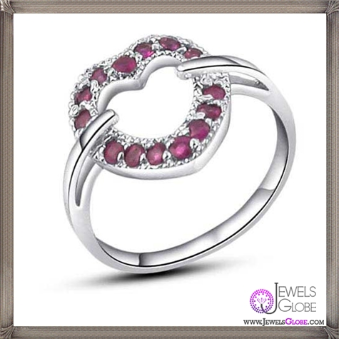 Genuine-Natural-Gemstone-JewelryGenuine-Ruby-Girls 32+ Most Elegant Genuine Ruby Rings For Women