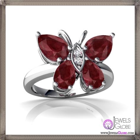 Genuine-Ruby-RINGS 32+ Most Elegant Genuine Ruby Rings For Women
