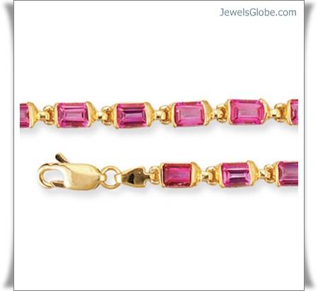 Gold-Gemstone-Jewelry-designs 18 Best Gold Gemstone Bracelets Designs