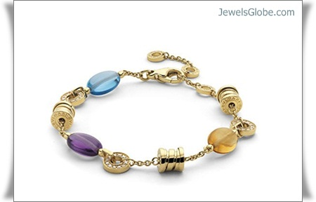 Gold-Gemstone-Women-Bracelets 18 Best Gold Gemstone Bracelets Designs