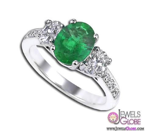 Green-Emerald-Diamond-Engagement-Ring-Ziva-Jewels-for-Sale A Quick Way to Get Cheap Emerald Rings For Sale